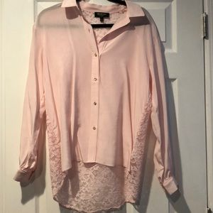 Pink Juicy couture button up shirt/ blouse